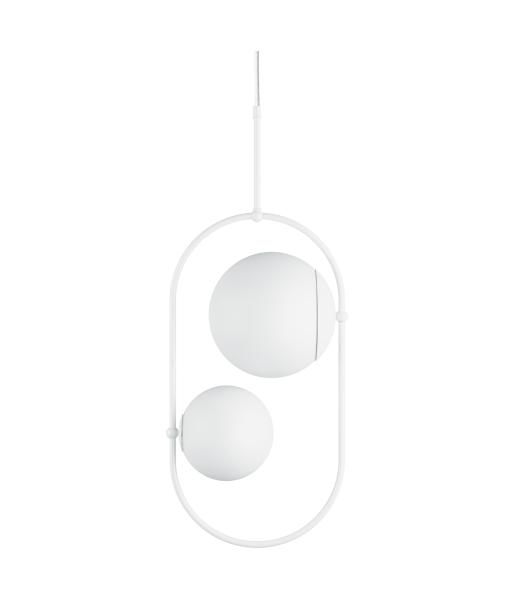 KOBAN C biała sufitowa lampa wisząca