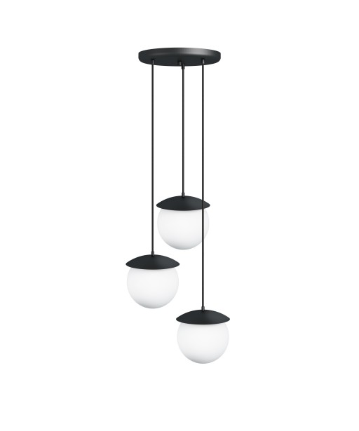 KUUL G triple black ceiling lamp