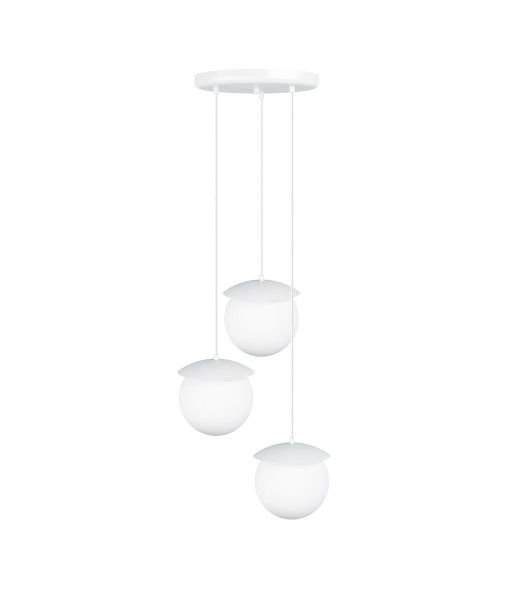 KUUL G triple white ceiling lamp