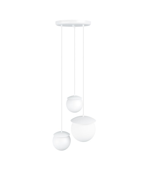 KUUL M triple white ceiling lamp