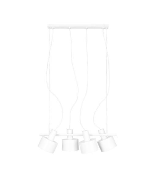 ENKEL 4 biała sufitowa lampa wisząca