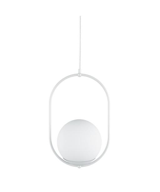 KOBAN B biała sufitowa lampa wisząca