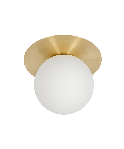 BORRA A wall lamp / sconce with brass