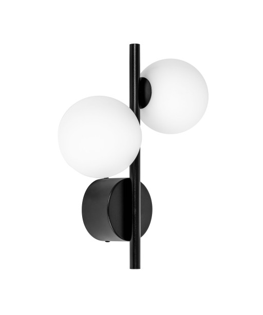 DIPLO A black wall lamp / sconce
