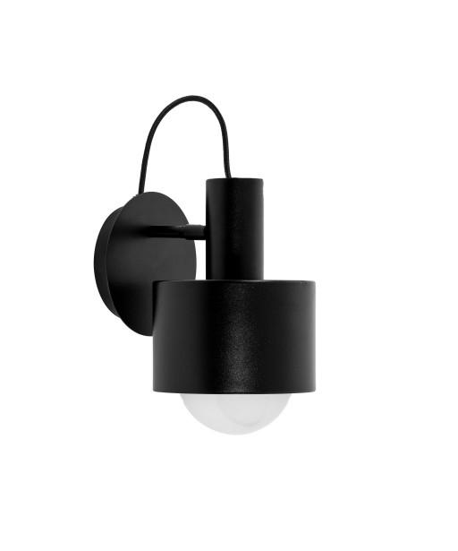 Black ENKEL KINKIET wall lamp with adjustable lighting direction UMMO