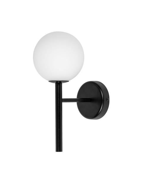 KOP A czarna lampa ścienna / kinkiet