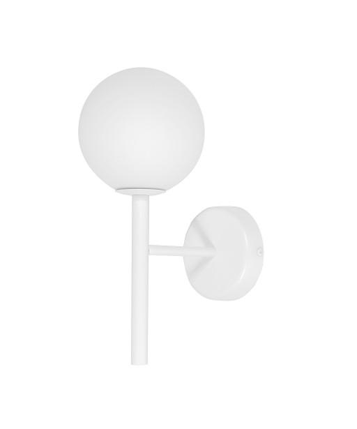 KOP A  biała lampa ścienna / kinkiet