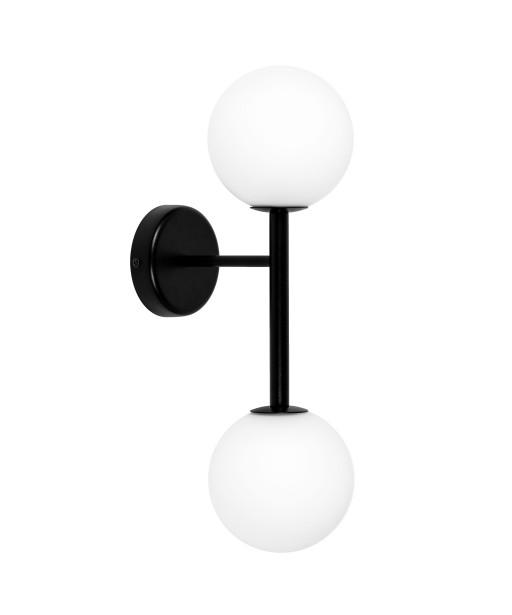 KOP B czarna lampa ścienna / kinkiet