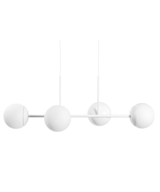 KOP E biała sufitowa lampa wisząca
