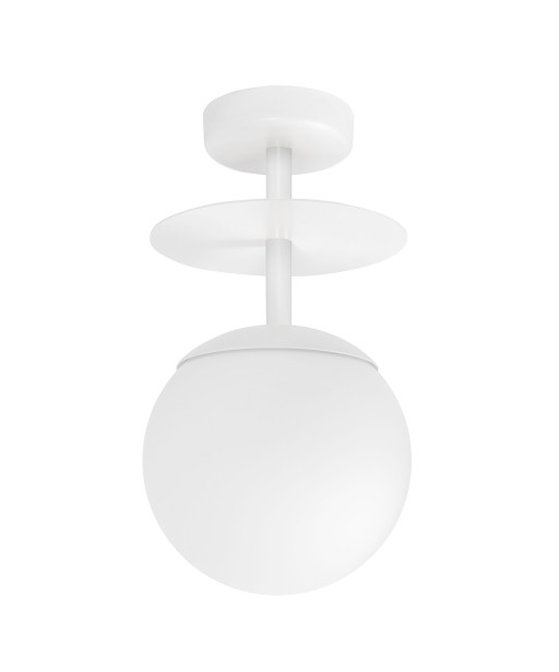 PLAAT B white plafond / ceiling lamp