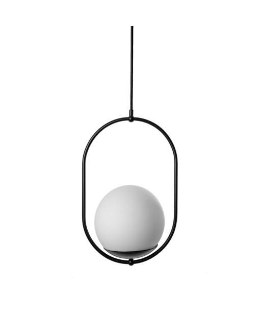 KOBAN B czarna sufitowa lampa wisząca