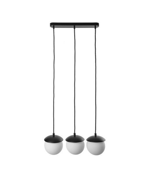 KUUL A black ceiling pendant lamp