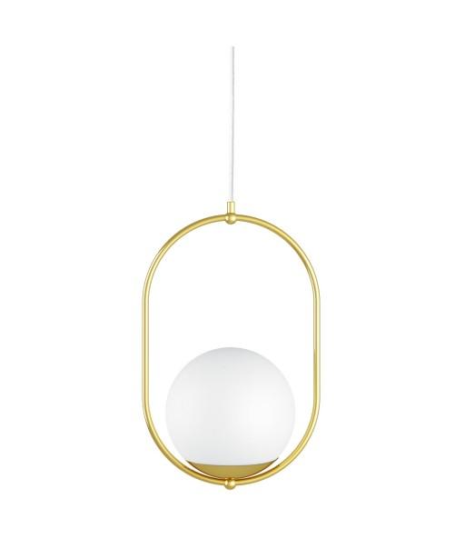 KOBAN B golden brass ceiling pendant lamp