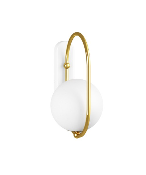 KOBAN D golden brass wall lamp / sconce