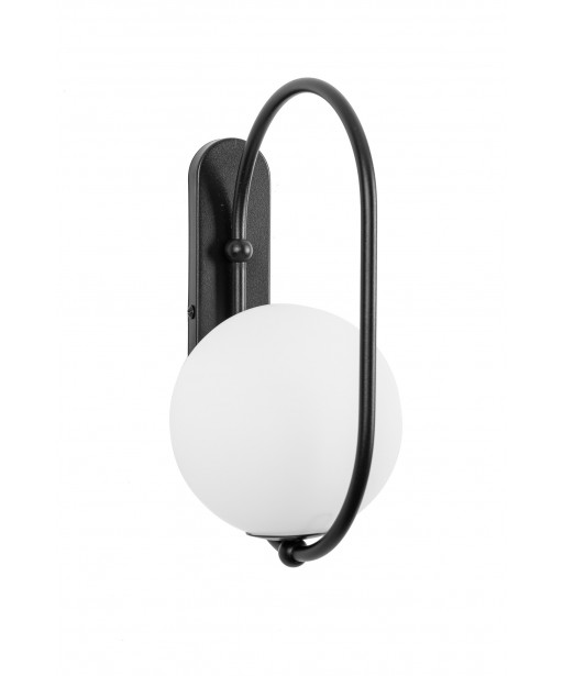 KOBAN D black wall lamp / sconce