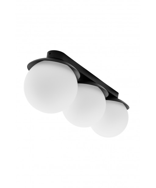 KUUL B black ceiling lamp / plafond